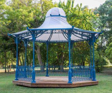 Aluminium Bandstand 1