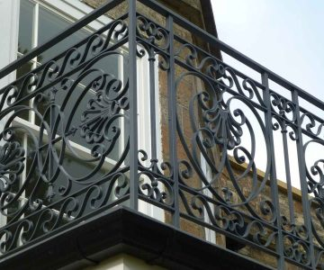 Balcony Balustrade Chota Castle 6