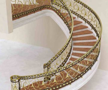 Brass Staircase 1