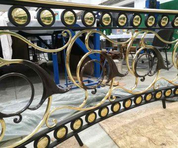 Cast Brass Balustrade 8