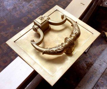 Custom Made Brass Handles 4