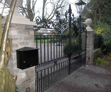 Entrance Gates Marston Court 4