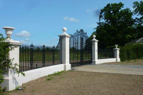 18th Century wrought iron gates