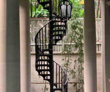 Final in situ Bangkok Staircase